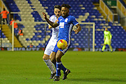 Birmingham City midfielder Jacques Maghoma (19) battles for possession with Ipswich Town midfielder Jonathan Douglas (22) 2-1 during the EFL Sky Bet Championship match between Birmingham City and Ipswich Town at St Andrews, Birmingham, England on 13 December 2016. Photo by Alan Franklin.