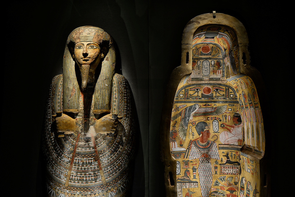 Hall of Ancient Egypt,Museum of Natural Science,Houston, Texas,USA