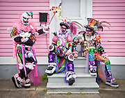 2009 Mardi Gras in the Bywater, Faubourg Marigny, and French Quarter of New Orleans