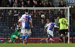 Danny Graham of Blackburn Rovers scores his sides second goal of the game - Mandatory by-line: Joe Dent/JMP - 19/04/2018 - FOOTBALL - Ewood Park - Blackburn, England - Blackburn Rovers v Peterborough United - Sky Bet League One
