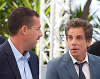 Adam Sandler and Ben Stiller at the The Meyerowitz Stories film photo call at the 70th Cannes Film Festival Sunday 21st May 2017, Cannes, France. Photo credit: Doreen Kennedy