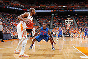 KNOXVILLE, TN - JANUARY 7: Kenny Boynton #1 of the Florida Gators defends against Trae Golden #11 of the Tennessee Volunteers at Thompson-Boling Arena on January 7, 2012 in Knoxville, Tennessee. Tennessee defeated Florida 67-56. (Photo by Joe Robbins) *** Local Caption *** Kenny Boynton;Trae Golden