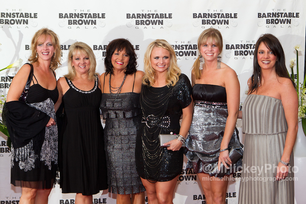 Miranda Lambert attends the Barnstable Brown Gala in Louisville, Kentucky on May 6, 2011.