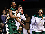 INDIANAPOLIS, IN - FEBRUARY 13: Willie Clayton #21 of the Charlotte 49ers celebrates in the closing minutes against the Butler Bulldogs at Hinkle Fieldhouse on February 13, 2013 in Indianapolis, Indiana. Charlotte defeated Butler 71-67. (Photo by Michael Hickey/Getty Images) *** Local Caption *** Willie Clayton