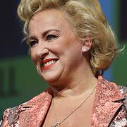 NLD/Amsterdam/20150414 - Onthulling van de Nederlandse stemmencast van de Minions, Karin Bloemen