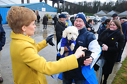 Nicola Sturgeon - Port Edgar-South Queensferry - 05-12-2019<br /> <br /> Nicola Sturgeon does selfies<br /> <br /> (c) David Wardle | Edinburgh Elite media