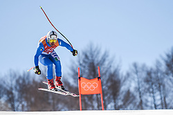 February 15, 2018 - Jeongseon, Gangwon, South Korea - Peter Fill of  Italy competing in mens downhill at Jeongseon Alpine Centre at Jeongseon , South Korea on February 15, 2018. (Credit Image: © Ulrik Pedersen/NurPhoto via ZUMA Press)