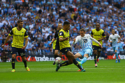 Stuart Beavon of Coventry City shoots - Photo mandatory by-line: Jason Brown/JMP -  02/04//2017 - SPORT - Football - London - Wembley Stadium - Coventry City v Oxford United - Checkatrade Trophy Final