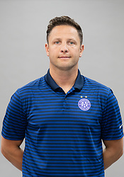 16.07.2019, Generali Arena, Wien, AUT, 1. FBL, FK Austria Wien, Fototermin, im Bild Physiotherapeut Josef Haslinger // Josef Haslinger during the official team and portrait photoshooting of tipico Bundesliga Club FK Austria Wien for the upcoming Season at the Generali Arena in Vienna, Austria on 2019/07/16. EXPA Pictures © 2019, PhotoCredit: EXPA/ Florian Schroetter