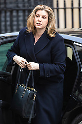 © Licensed to London News Pictures. 26/03/2019. London, UK. Secretary of State for International Development Penny Mordaunt arrives on Downing Street for the Cabinet meeting. MPs have passed an amendment which gives Parliament a series of indicative votes on alternatives to Prime Minister Theresa May's Brexit deal. Photo credit: Rob Pinney/LNP
