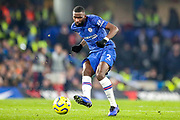 Chelsea defender Antonio Rüdiger (2) during the Premier League match between Chelsea and Arsenal at Stamford Bridge, London, England on 21 January 2020.