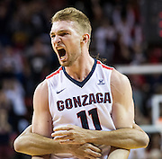 Gonzaga beat Tennessee 86-79 on Dec. 19, 2015 (Photo by Ryan Sullivan)