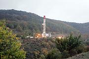 Foto di Donato Fasano Photoagency, nella foto : Vall'D'Agri  Basilicata Pozzi di Petrolio Total