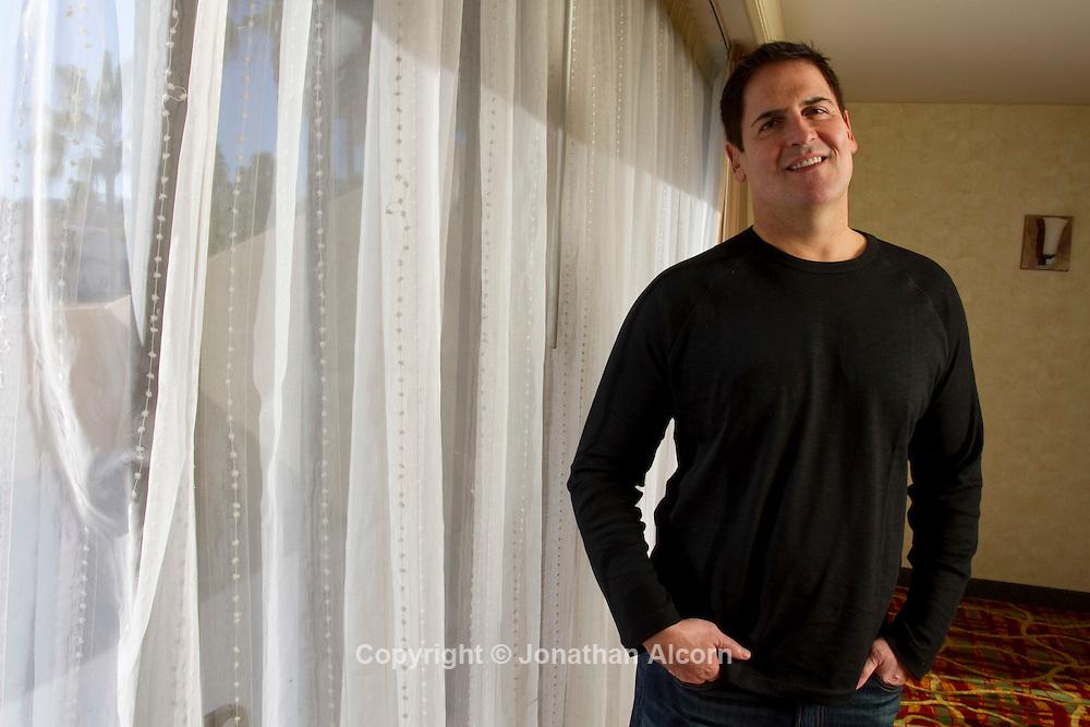 Mark Cuban, entrepreneur and owner of the NBA Dallas Mavericks
