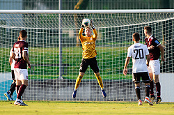 Luka Čadež of Triglav during football match between NK Triglav and NS Mura in 5th Round of Prva liga Telekom Slovenije 2019/20, on August 10, 2019 in Sports park, Kranj, Slovenia. Photo by Vid Ponikvar / Sportida