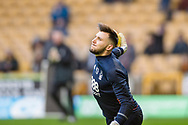 Jordan Smith of Nottingham Forest warms up ahead of the EFL Sky Bet Championship match between Wolverhampton Wanderers and Nottingham Forest at Molineux, Wolverhampton, England on 20 January 2018. Photo by Darren Musgrove.
