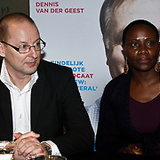 NLD/Amsterdam/20100310 - Presentatie van de 4de editie van het blad Helden, schoonouders Nando Rafael