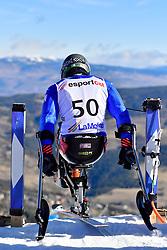 de SILVESTRO Rene', LW12-1, ITA, Giant Slalom at the WPAS_2019 Alpine Skiing World Cup, La Molina, Spain