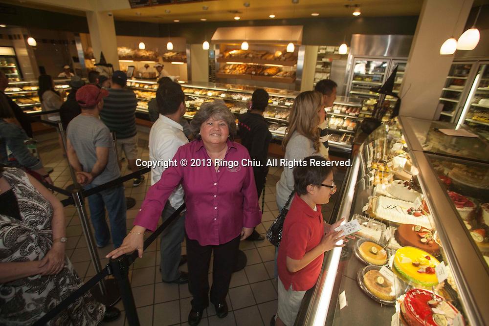 Betty Porto, owner of Porto's Bakery in Glendale. (Photo by Ringo Chiu/PHOTOFORMULA.com)