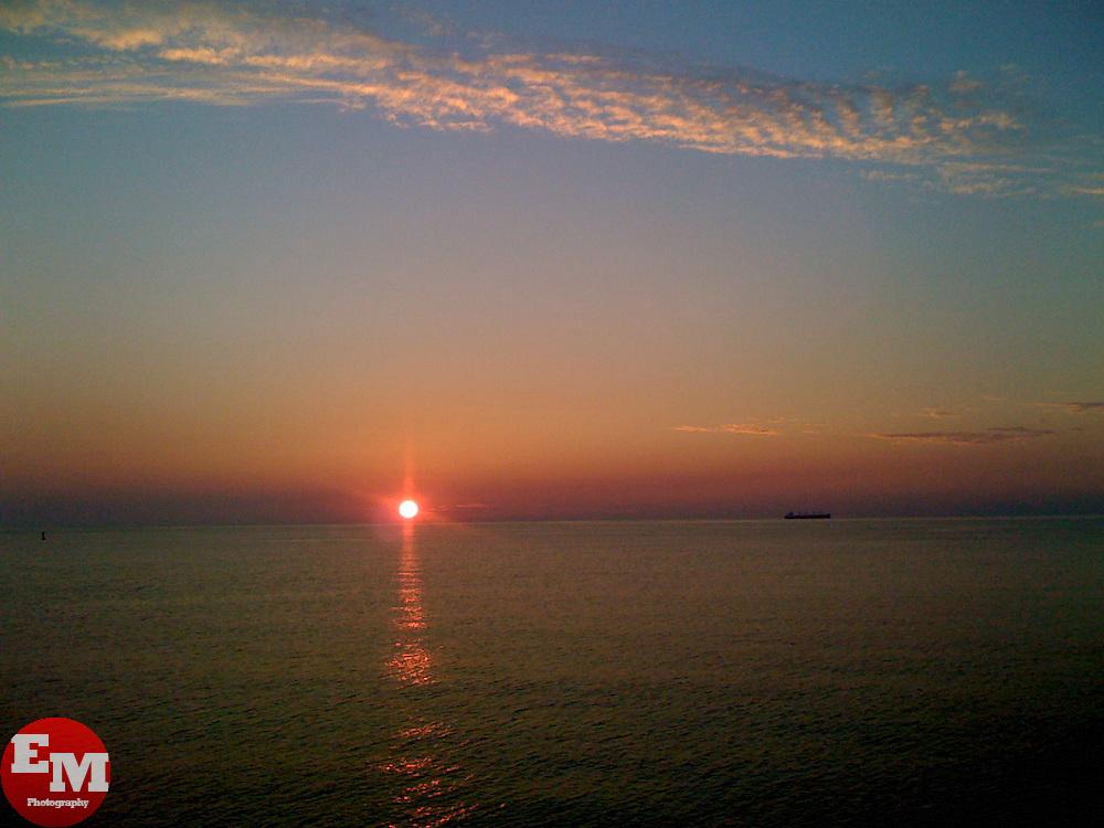 Sunset in OBX, North Carolina.