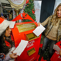 Los Angeles, CA – December 6, 2013: International superstar Thalia Sodi helps Macy's and Make-A-Wish celebrate National Believe Day by writing a letter to Santa.  Today only, for every letter mailed Macy's will donate $1 to Make-A-Wish above the existing $1 million goal, helping to generate up to $2 million in total for Make-A-Wish this holiday season!  (Eric Reed / AP Images for Macy's)