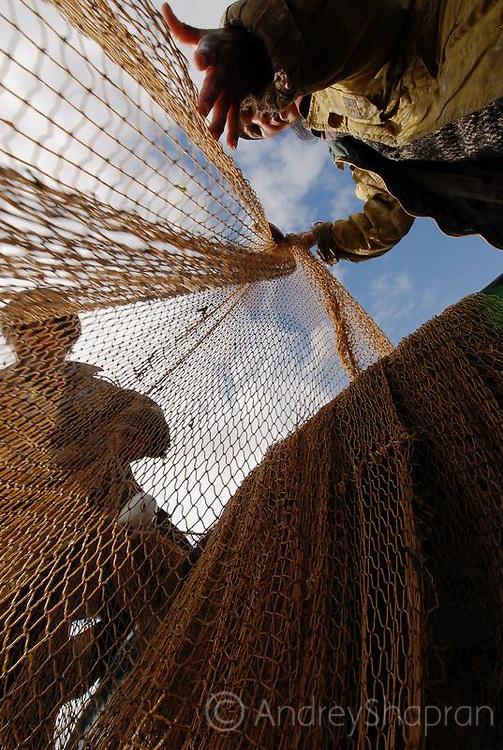 Fishing. The Kamchatka Peninsula. Russia