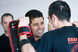 Haim Sasson takes the Civilian Instructors Course (CIC) Part 1 at the Scottish Martial Arts Centre, Alloa, Scotland UK.©2010 Michael Schofield. All Rights Reserve