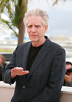 Director David Cronenberg at the photo call for the film Maps To The Stars at the 67th Cannes Film Festival, Monday 19th May 2014, Cannes, France.