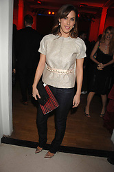 JESSICA DE ROTHSCHILD at the Art Plus Drama party Held at the Whitechapel Art Gallery, London E1 on 8th March 2007. <br />