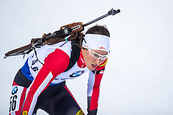 March 8, 2019 - –Stersund, Sweden - 190308 Julia Schmaiger of Austria competes in the Women's 7.5 KM sprint during the IBU World Championships Biathlon on March 8, 2019 in Östersund..Photo: Johan Axelsson / BILDBYRÃ…N / Cop 245 (Credit Image: © Johan Axelsson/Bildbyran via ZUMA Press)