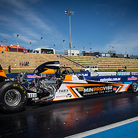 Robyn Butler (4411) in the Minprovise Butler Built dragster.