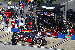 April 29, 2018 - Talladega, Alabama, United States of America - Clint Bowyer (14) brings his car down pit road for service during the GEICO 500 at Talladega Superspeedway in Talladega, Alabama. (Credit Image: © Chris Owens Asp Inc/ASP via ZUMA Wire)