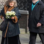 NLD/Rotterdam/20180220 - Herdenkingsdienst Ruud Lubbers, Chiem van Houweningen en partner