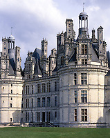AA00393-02...FRANCE - Chateau de Chambord is the largest of the Loire Valley chateaus.