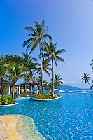 Infinity pool, Melati Beach Resort and Spa, Koh Samui (island), Gulf of Thailand, Thailand