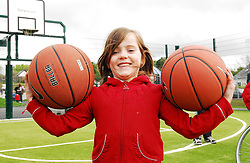 Fionnula McLoughlin was pictured enjoying the the facilities at Westport Greenway park ...Pic Conor McKeown