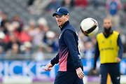 Eoin Morgan of England before the One Day International match between England and West Indies at the Brightside County Ground, Bristol, United Kingdom on 24 September 2017. Photo by Graham Hunt.