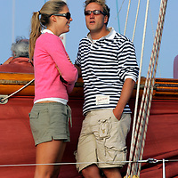 Ben Fogle, aboard, Jolie Brise, 2005, Round the Island Race, Sports Photography