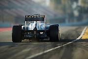 February 20, 2013 - Barcelona Spain. Kimi Raikkonen, Lotus F1 Team  during pre-season testing from Circuit de Catalunya.