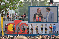 Team MTN Qhubeka (RSA), BOASSON HAGEN Edvald (NOR), PAUWELS Serge (BEL) during the 102nd Tour de France, Team Presentation, in Utrecht, Netherlands, on July 2, 2015 - Photo Tim de Waele / DPPI