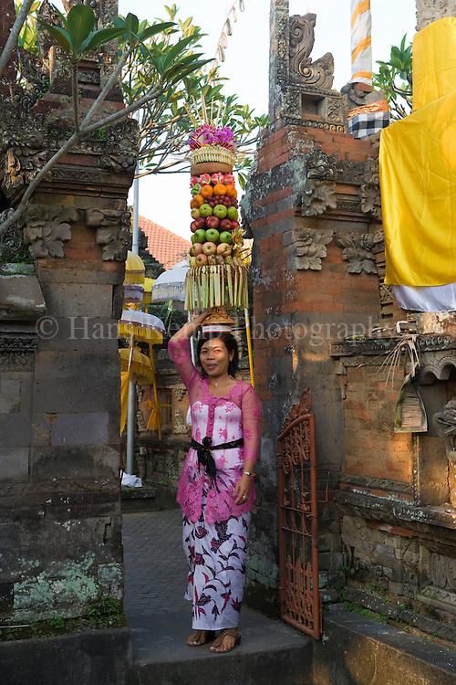 The Odalan (Temple Anniversary) of the Pura Taman Pule Temple in Mas, Bali