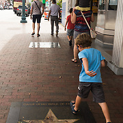 JUNE 9, 2016---MIAMI, FLORIDA<br /> A star for a Latino celebrity is one of many adorning the sidewalk along Miami's Little Havana neighborhood. This one is in front of the old Tower Theater.<br /> (Photo by Angel Valentin/Freelance)