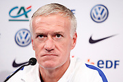 France's coach Didier Deschamps gives a press conference before the Training of the team of France before the Friendly Game between France and England on June 12, 2017 at Stade de France in Saint-Denis, France - Photo Benjamin Cremel / ProSportsImages / DPPI