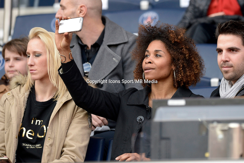 Katarzyna Kiedrzynek / Laura Georges  - 07.03.2015 -   PSG / Lens -  28eme journee de Ligue 1 <br />