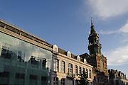 Kirche St. Elisabeth, Rue de Nimy, Mons, Hennegau, Wallonie, Belgien, Europa | church St. Elisabeth, Mons, Hennegau, Wallonie, Belgium, Europe