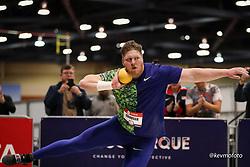 2020 USATF Indoor Championship<br /> Albuquerque, NM 2020-02-15<br /> photo credit: © 2020 Kevin Morris<br /> mens shot put, Nike