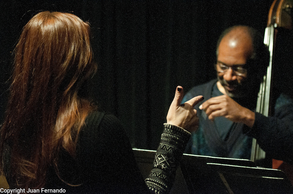 "Photo Documentary of the making of Cristina Morrison's ""I Love"" Jazz CD, during March of 2011 in New York City."
