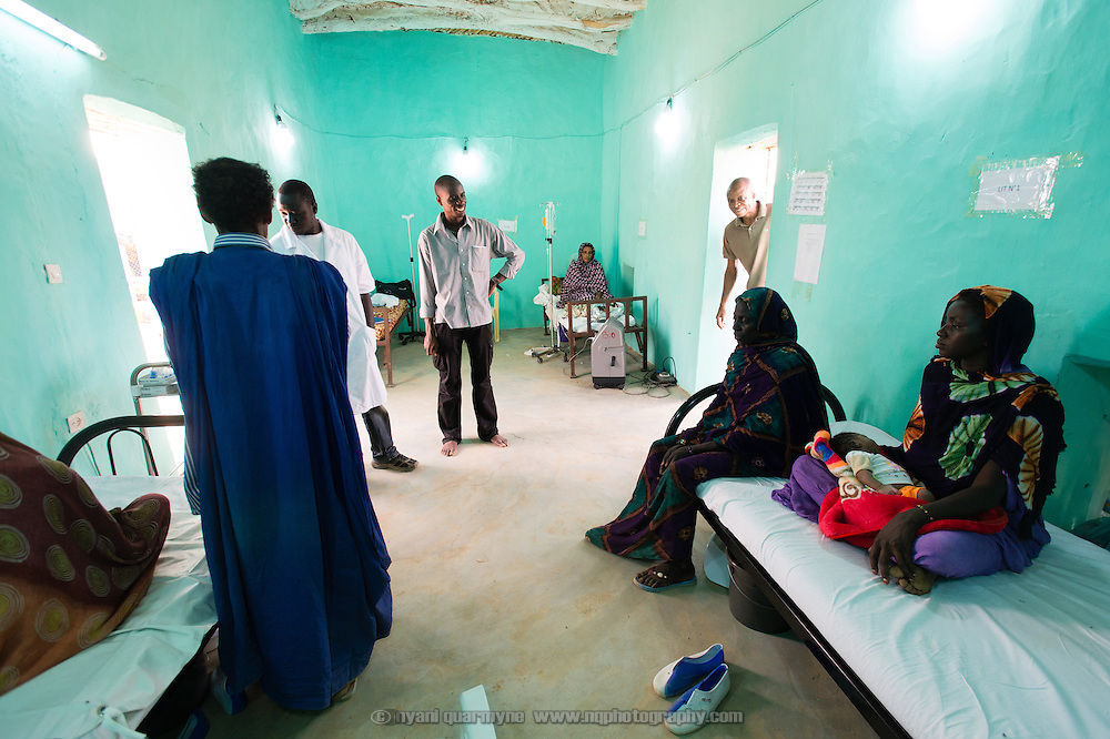 An observation ward at the recently completed Médecins Sans Frontières (MSF) surgical unit in Bassikounou, Mauritania on 2 March 2013. The establishment of the unit now means that surgical emergencies no longer have to be referred to a hospital six-hours drive away.
