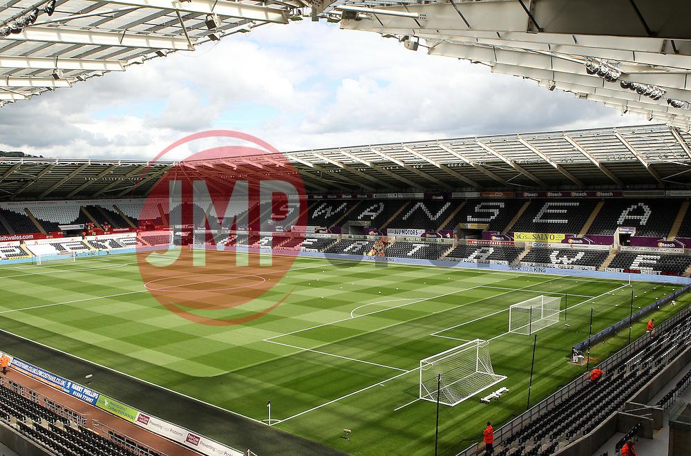 The Liberty Stadium - Mandatory byline: Robbie Stephenson/JMP - 07966386802 - 15/08/2015 - FOOTBALL - Liberty Stadium -Swansea,England - Swansea City v Newcastle United - Barclays Premier League