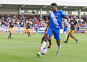 Rakish Bingham (Hartlepool United) during the Sky Bet League 2 match between Hartlepool United and Cambridge United at Victoria Park, Hartlepool, England on 19 September 2015. Photo by George Ledger.